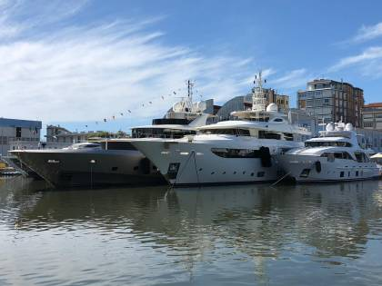 Aperto a Viareggio il salone della grande nautica made in Italy