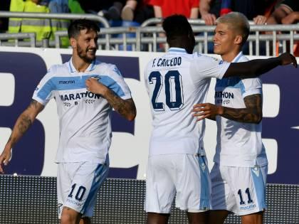 La Lazio vince a 2-1 a Cagliari: decidono Luis Alberto e Correa
