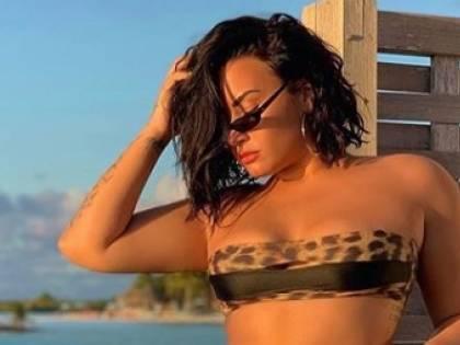 """Demi Lovato in bikini: """"Ho la cellulite e ne vado fiera"""""""