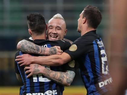 L'Inter batte il Chievo Verona 2-0: terzo posto e Champions sempre più vicina