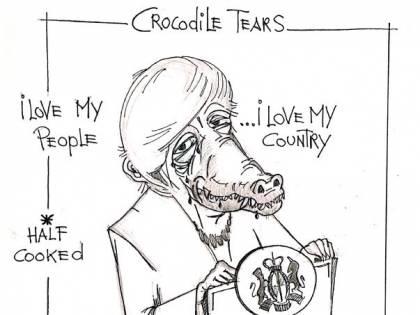 La vignetta del giorno - Lacrime di coccodrillo