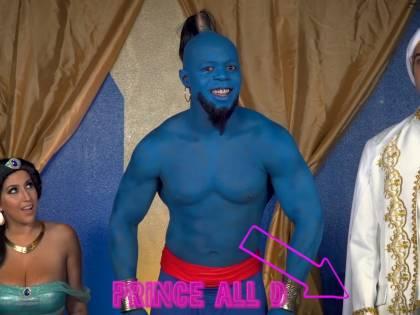 Aladdin, arriva la parodia porno