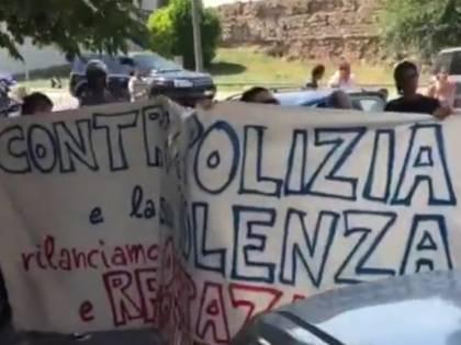 Padova, sgomberata famiglia congolese: tensioni con manifestanti