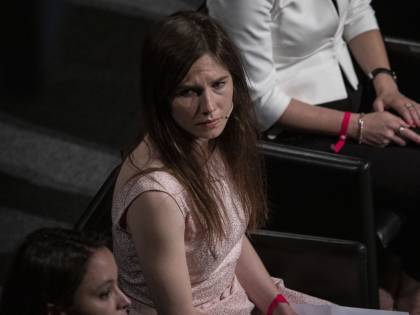 """Amanda Knox in lacrime: """"Il ladro Guede uccise Meredith"""""""