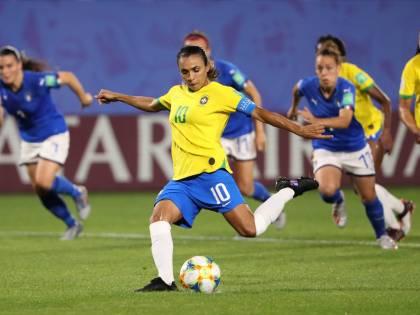 Mondiali femminili, vince 1-0 il Brasile. Ma le Azzurre restano prime nel girone