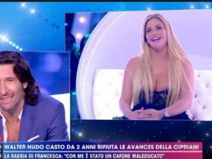 """Walter Nudo è gay? Francesca Cipriani: """"È fidanzato con un ragazzo"""""""