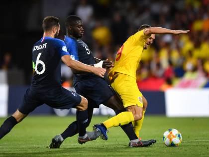 Europeo under 21, l'Italia fatta fuori dal pareggio tra Francia e Romania