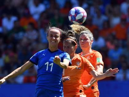 Mondiali femminili, Italia ko con l'Olanda: finisce il sogno delle azzurre
