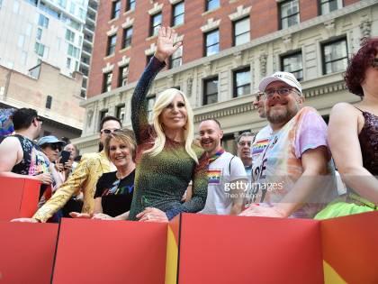 Donatella Versace diventa portavoce del movimento pro-gay Stonewall