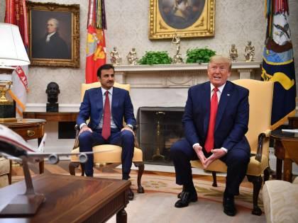 Ora il Qatar ricuce con gli Usa: c'è il patto fra Trump e l'emiro