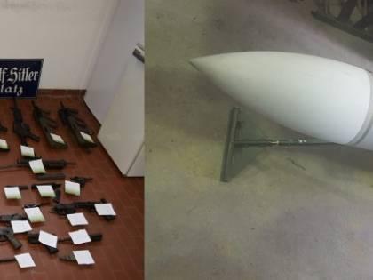 Criminalità, blitz della polizia nel Nord Italia: sequestrate armi a estremisti di destra