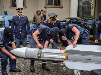Torino, il missile sequestrato era stato venduto nel 1994