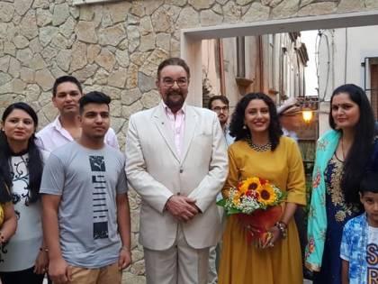 Kabir Bedi, il Sandokan della televisione, cittadino onorario nel Salernitano