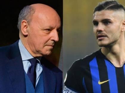 """Inter, Marotta: """"Icardi? Gli troveremo una sistemazione"""""""