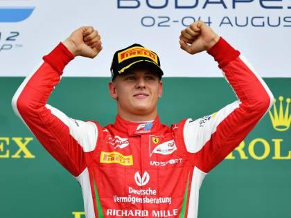 Gp Ungheria, primo successo per Mick Schumacher in Formula 2