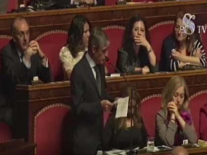 Airola (M5s) fa confusione sul Tav in Senato