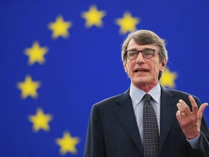 Il presidente dell'Europarlamento Sassoli si mette in autoquarantena