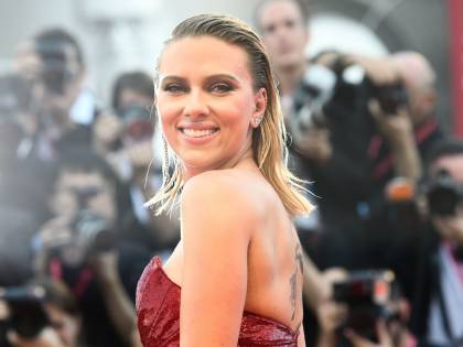 Scarlett Johansson a Venezia: le foto