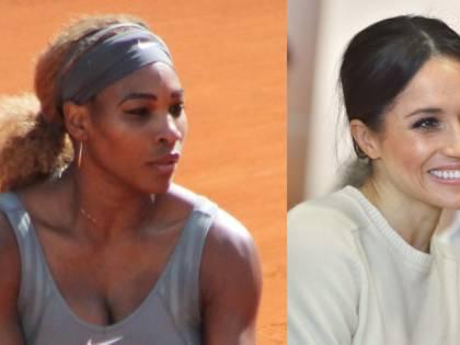 Serena Williams volta le spalle a Meghan Markle?