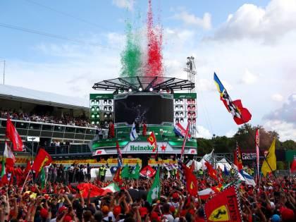Formula Uno, Monza si tinge di rosso: il tripudio tricolore