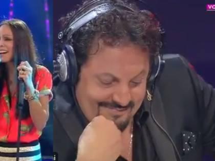 Enrico Brignano giudica la compagna Flora Canto a Tale e quale show ed è polemica
