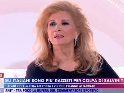 """Iva Zanicchi contro Alba Parietti: """"Attacchi Salvini ma i tuoi compagni ci governano"""""""