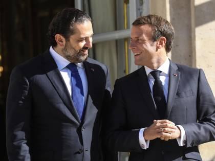 """Macron """"ci ruba"""" pure il Libano: a rischio gas e petrolio italiani"""