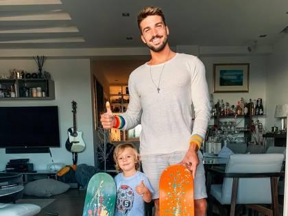 Mariano Di Vaio papà tris ha già aperto un profilo Instagram per il figlio neonato