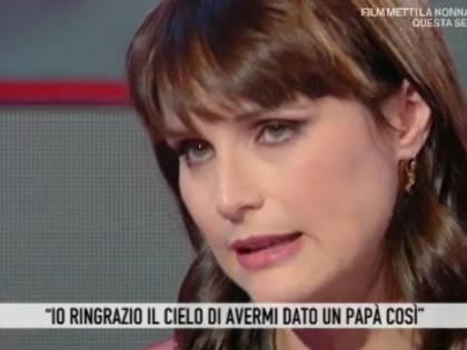 """Lorena Bianchetti: """"Mio padre è morto tre giorni dopo il matrimonio"""""""