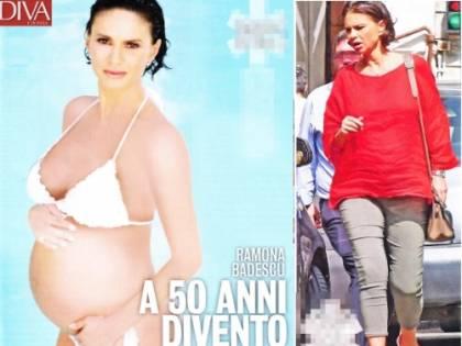 Ramona Badescu incinta, a 50 anni realizza il sogno di diventare mamma