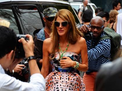 """Anna Dello Russo rivela: """"Ho un appartamento che uso come guardaroba"""""""