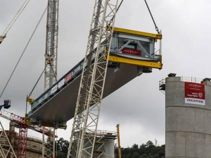 Genova inizia a vedere il nuovo ponte: oggi il varo del primo impalcato