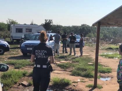 Controlli nei campi nomadi della Capitale: 3 arresti e una denuncia