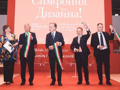 Design e qualità, a Mosca il Salone del Mobile porta le eccellenze e la cultura dell'arredo italiano