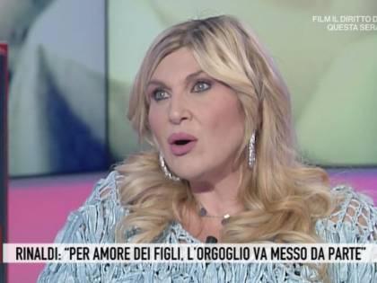 """Nadia Rinaldi: """"Il mio ex marito è poco presente con nostra figlia"""""""