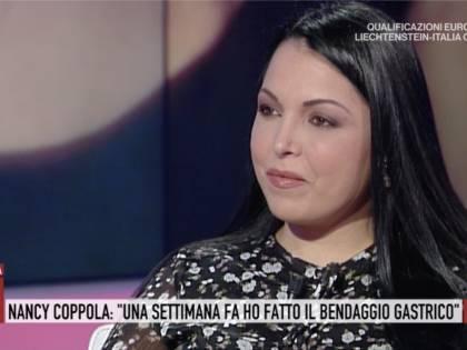 """Nancy Coppola: """"Col bendaggio gastrico ho perso 5 chili in 8 giorni"""""""