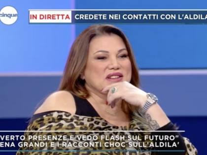 """Serena Grandi: """"C'è troppa delinquenza, voterò per la Borgonzoni"""""""