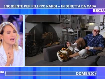 """Filippo Nardi si sfoga dopo l'incidente: """"Ho perso un pezzo di dito"""""""