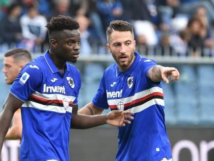 """Sampdoria-Roma, """"buu"""" razzisti contro Ronaldo Vieira"""