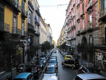 Napoli, invasione di insetti: allarme in via Duomo