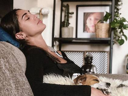 Cecilia Rodriguez divina senza make-up