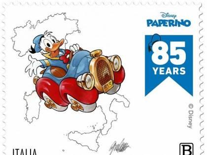 Paperino ha 85 anni: ecco i francobolli che lo festeggiano