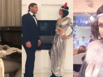 Ilary Blasi cambia look per il party della sorella Melory