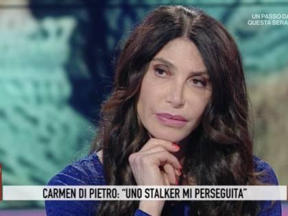 """Carmen Di Pietro: """"Uno stalker mi perseguita sui social"""""""