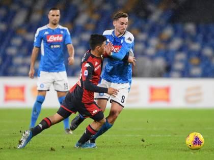 Il Napoli non scaccia la crisi: 0-0 contro il Genoa tra i fischi del San Paolo