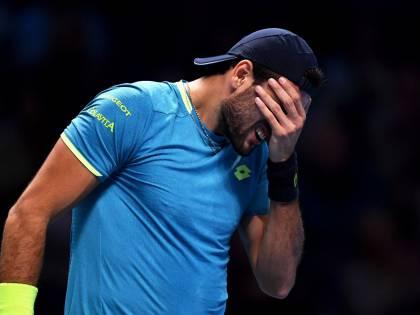 Tennis, Atp Finals: Djokovic dà una lezione a Berrettini