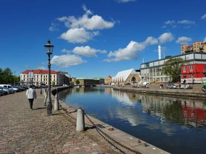 Calcio a Göteborg (Svezia): foto della città e dello stadio Ullevi