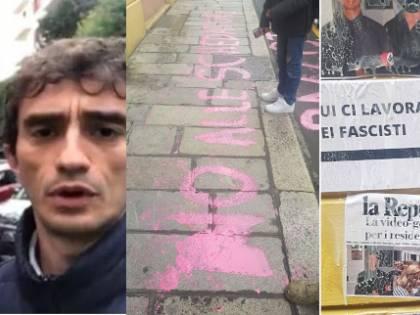 """""""Qui lavorano dei fascisti"""". A Bologna blitz contro gli esponenti FdI"""