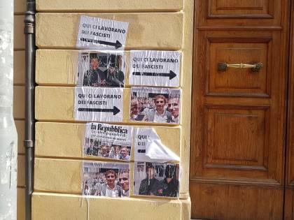 Bologna, il blitz allo studio del consigliere comunale Marco Lisei