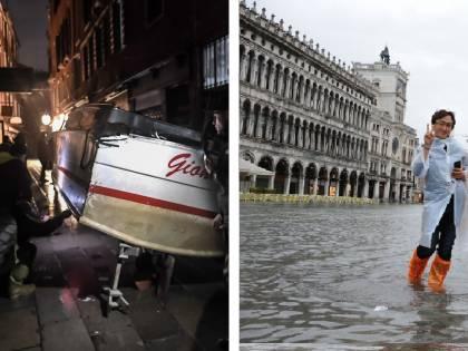 Venezia in ginocchio. E i turisti scattano i selfie